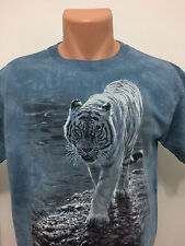 2004 White Bengal Tiger M The Mountain Busch Gardens Tampa Fl  T Shirt