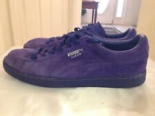 Puma Suede Solid Royal Blue Classic Mens Sneakers Lace Up US Size 13 EUR Size 47