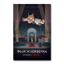 BoJack Horseman TV Art Silk Poster Canvas Print 12x18 24x36 inch