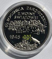 Poland: 2005 MW silver 10 zlotych - Zakonczenie II Wojny Swiatowej WWII