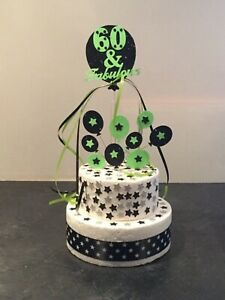 Cake Topper Decoration Balloons Fabulous at 30th 40th 50th  Any Colours or Age