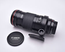 Canon Macro Lens EF 180mm f/3.5 L Ultrasonic Lens with Caps (#5771)