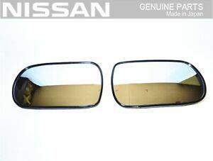 NISSAN GENUINE RHD FAIRLADY Z32 300ZX Right & Left Door Side Mirror OEM JDM