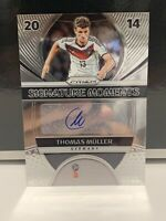2018 PANINI PRIZM WORLD CUP THOMAS MULLER SIGNATURE MOMENTS AUTO #SM-TM GERMANY