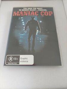 Maniac Cop Region 4 DVD Bruce Campbell Graphic Violence FREE SHIPPING Australia