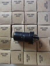 6SJ7 JAN CRC RCA TUBE ELECTRONIQUE X 20 PCS