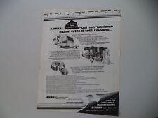 advertising Pubblicità 1979 CARAVAN ROULOTTE ADRIA