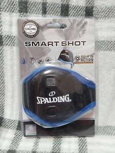 New Spalding One Size Smart Shot Arm Band Teach Correct Shooting Form Black/Blue