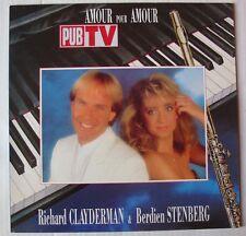 RICHARD CLAYDERMAN & BERDIEN STENBERG (LP 33 Tours)  AMOUR POUR AMOUR
