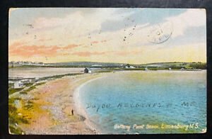 1907 Carbonear Newfoundland Picture Postcard Cover To St Johns Battery Point Bea