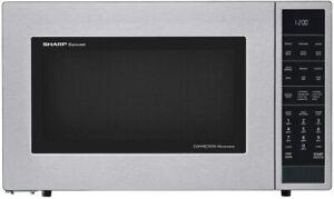 Sharp SMC1585BS Carousel 1.5 Cu. Ft 900W Microwave Oven