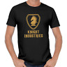 KNIGHT INDUSTRIES Rider Michael David Hasselhoff Kitt Foundation 80s Fun T-Shirt