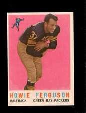 1959 TOPPS #56 HOWARD FERGUSON VG+ PACKERS UER *SBA1498
