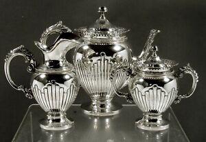Italian Silver Tea Set                      c1950 PAMPALONI