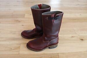 Wesco Custom Boss 100 Year Chromexcel Leather Engineer Boot 9.5E MSRP $700