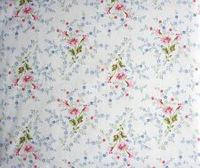 RALPH LAUREN FLORAL FRENCH COUNTRY / VICTORIAN PINK BLUE QUEEN 4 PC. SHEET SET
