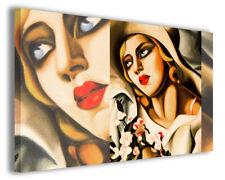 Quadri moderni famosi Tamara de Lempicka vol X stampa su tela canvas arredo