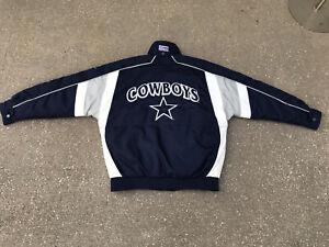 Dallas Cowboys Nike Pro Line Coat Puffer Jacket M NFL
