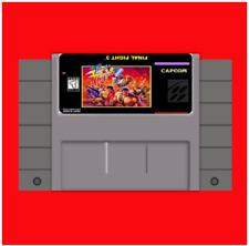 Final Fight 3 (FF3) SNES Super Nintendo