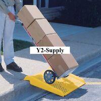 NEW! Magliner Portable Plastic Hand Truck Curb Ramp 600 Lb. Capacity!!