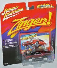 Zingers - 1973 PONTIAC GRAND AM - candy apple red - 1:64 Johnny Lightning