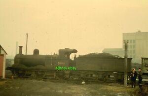 Original 35mm slide Midland 2F 58148 Leicester West Bridge 1963 before withdrawa