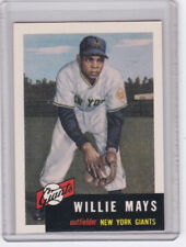 1991 Topps Archives WILLIE MAYS 1953 BASE CARD! GIANTS! JM