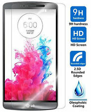 HQ Real Premium Tempered Glass Screen Protector Protective Film Guard for LG G3