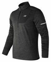 New Balance Men's Heat Quarter Zip Grey