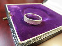 Wundervoller 925 Silber Ring Sterling Diamantiert Hell Funkelnd Modern Elegant