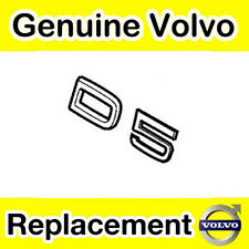 Genuine Volvo D5 Tailgate / Boot Emblem (Models up to 2010)