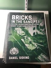 New ListingBrickmania bricks in the sand: Building Instructions for Operation Desert Storm