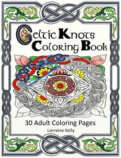 Celtic Knots Adult Coloring Book 30 Pages Mandala Lozs Art Thick Pages