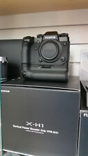 NEW Fujifilm X-H1 XH1 24.3MP Mirrorless Camera Body with Power Booster Grip Kit