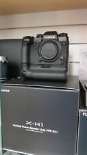 NEW Fujifilm X-H1 XH1 24.3MP Mirrorless Camera Body with Power Booster Grip