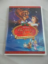 Disney Beauty and the Beast: An Enchanted Christmas (DVD, 2002, Special Edition)