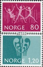 Norway 645-646 (complete issue) unmounted mint / never hinged 1972 Stamps