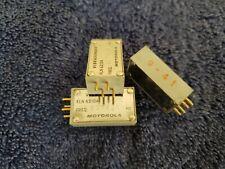 Lot of 3 Motorola Vibrasender Kln6210A Freq. 2175.0 Hz Frequency 4 pin Kln 6210A