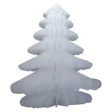 5 Stk. Papierbaum Faltbaum Christbaumschmuck Weihnachtsdeko aus Papier