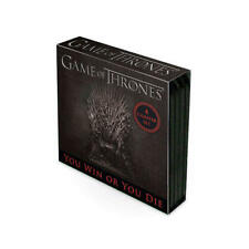 Licencia oficial Game of Thrones posavasos juego 4 pack