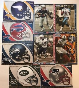 Fathead Tradeables 2008 NFL Football New Authentic Pick 1 Players Teams Logos FB