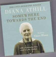 DIANA ATHILL SOMEWHERE TOWARDS THE END. 4CD UNABRIDGED AUDIO BOOK BIOGRAPHY