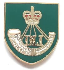 Durham Light Infantry Pin Badge MOD APPROVED Free Postage