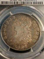 1807 Capped Bust Half Dollar PCGS XF+++ O-112 Large Stars 50/20 Beauty!!!