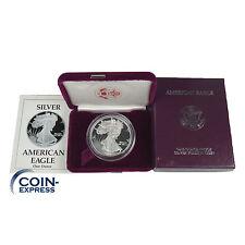 *** usa 1 dollars pièce de monnaie 1989 American silver eagle pp proof 1 oz once argent ***