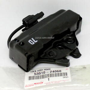 OEM GENUINE Lexus 02-10 SC430 FRONT HOOD LATCH LOCK BRACKET ACTUATOR 53510-24060