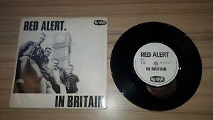 "Red Alert - In Britain Vinyl 7"" Single Punk Oi Record 1982 EX/VG"
