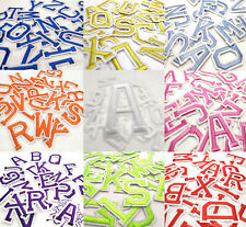 Colourful Letters Alphabet Colour Letter Patch Patches Clothes Iron on Sew on
