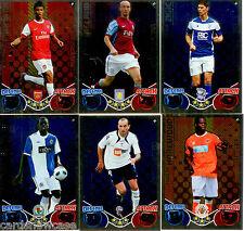 2010-11 Topps Match Attax Star Signing Foil Card Full Set (20)