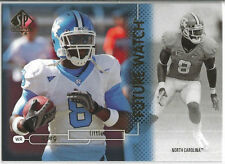 2011 UD SP Authentic Future Watch Greg Little #128 RC North Carolina / Browns